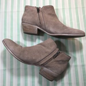 """Sam Edelman Tan Leather Ankle Boots """"Petty 2"""""""